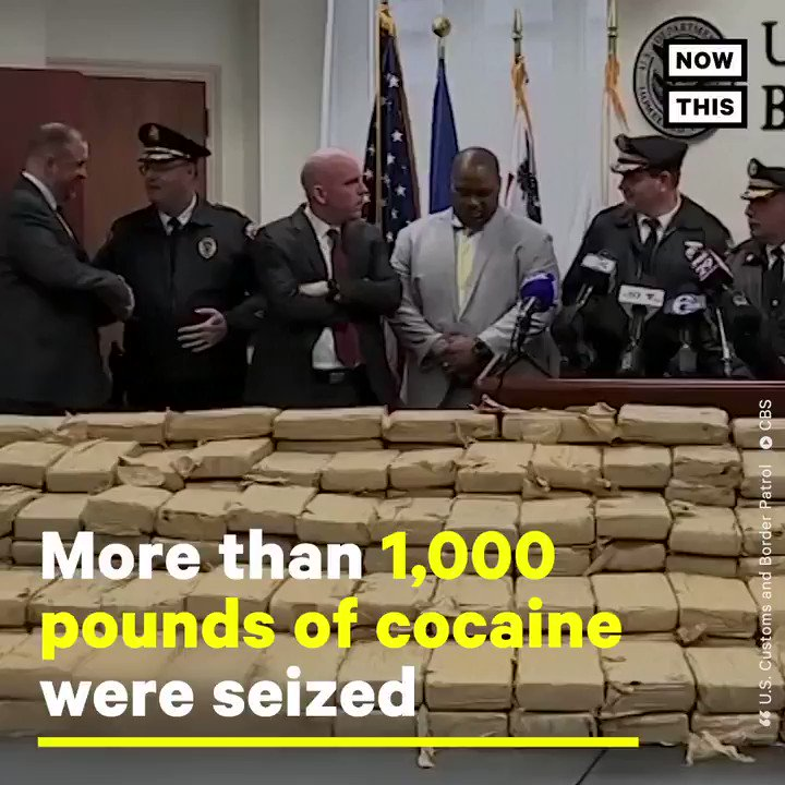 Detectives just seized more than 1,000 lbs of cocaine in this massive Philadelphia bust
