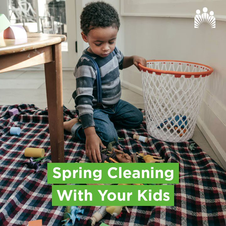 If it no longer brings them joy, let it go. Check out these tips on how to make spring cleaning fun with your kids.