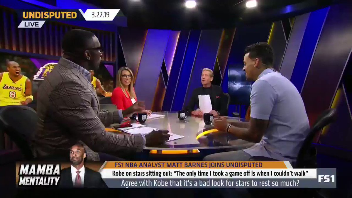 """""""Kobe my guy. ... In all honesty, the last 20 years I really just had two guys: Kobe and 'Bron."""" — @ShannonSharpe"""