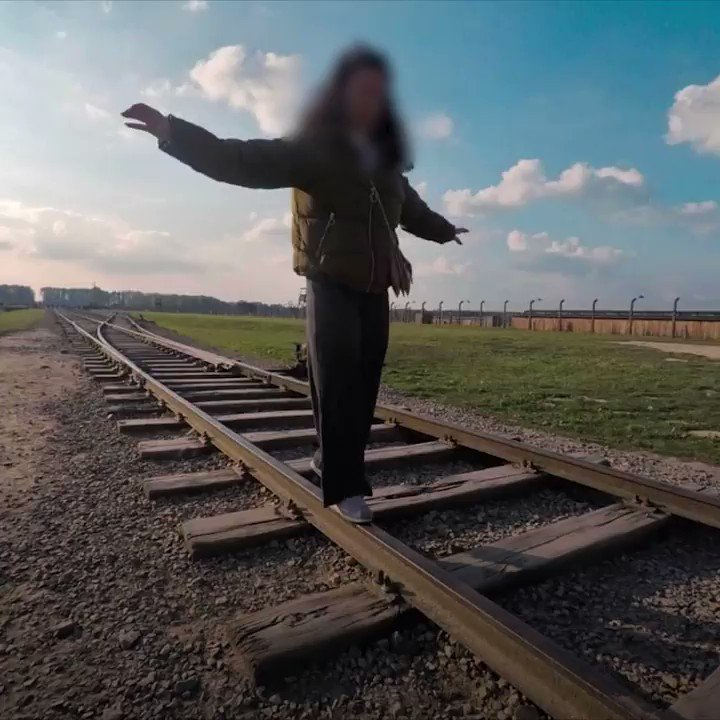 The Auschwitz-Birkenau Memorial and Museum has implored visitors to respect the memories of the 1.1 million people who were killed at the concentration camp — and not to balance on the train tracks.