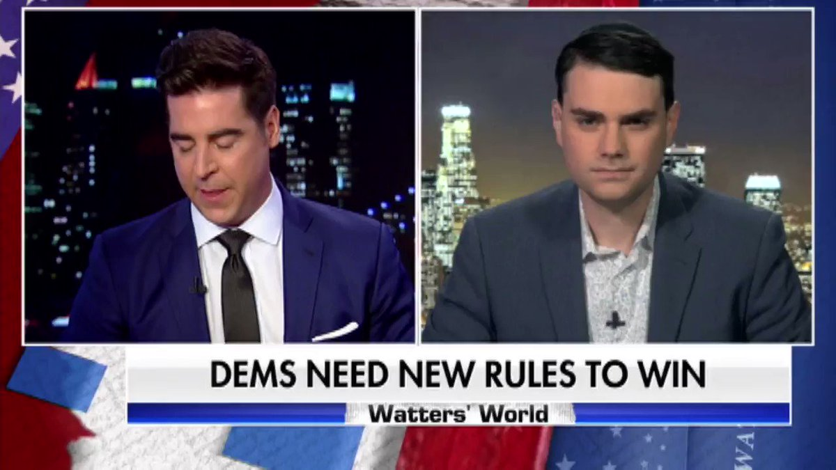 Is Trump on track for a 2020 landslide? Watch as @benshapiro and @JesseBWatters discuss.