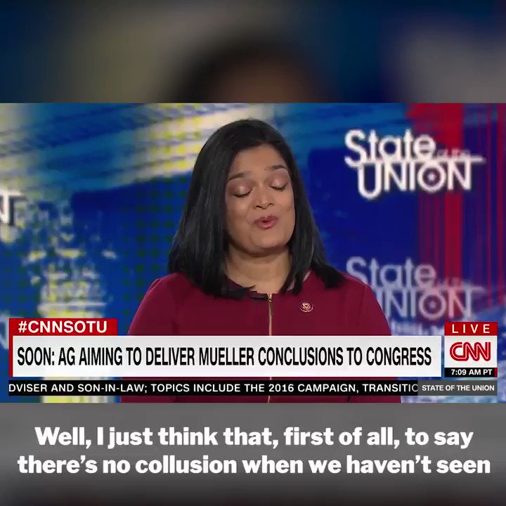 I joined @DanaBashCNN on @CNNSOTU to discuss the Mueller report. If Republicans want to truly be transparent, they should be pushing with us to tell the AG to #ReleaseTheReport.