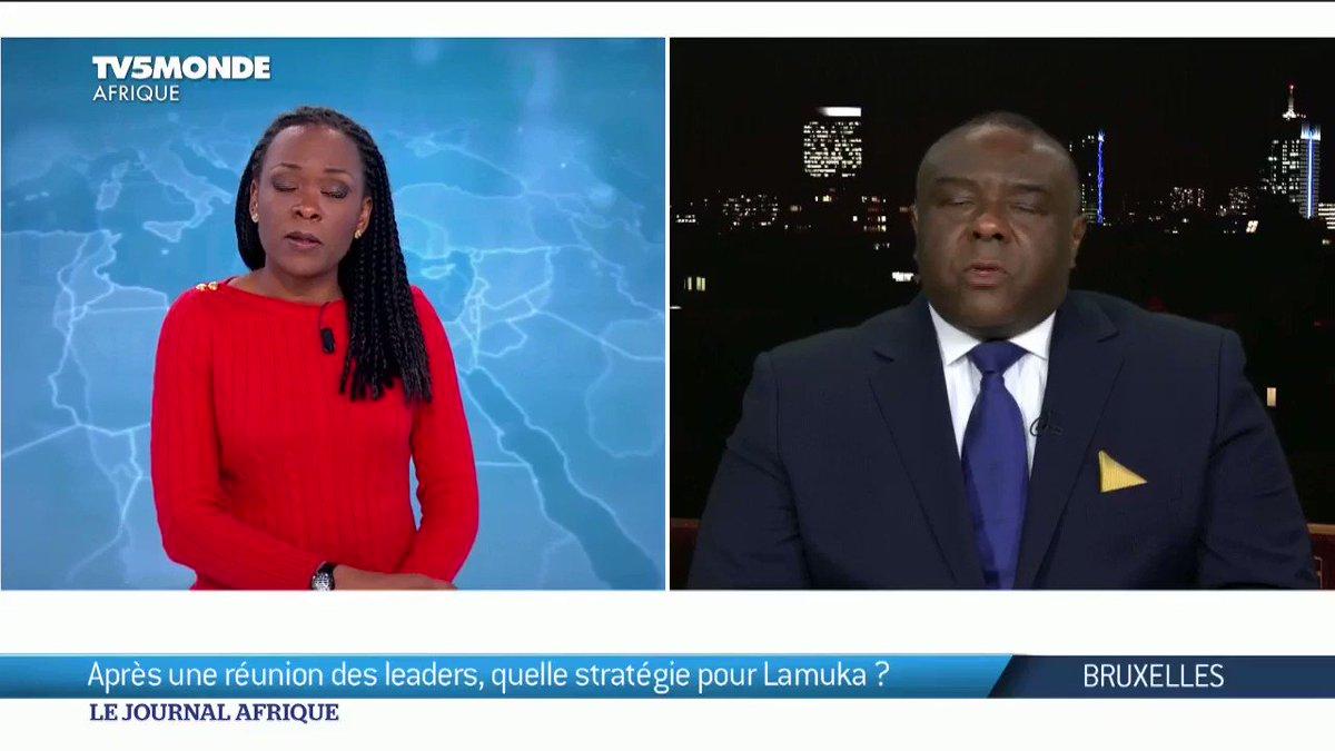 """"""" Nous allons étendre l'action politique. Nous devons comme le disait devenir dans cette plateforme politique avoir une stratégie pour pouvoir ensuite préparer  la population à ce que LAMUKA soit une force d'alternance demain dans le pays. """"- JP. Bemba"""