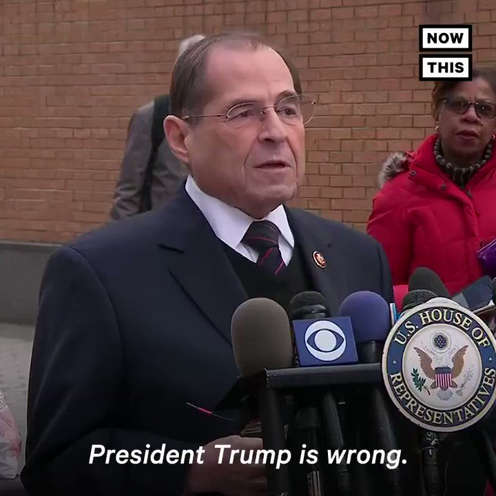 'President Trump is wrong... Mueller was clear that his report does not exonerate the president.' — House Judiciary chair Nadler is demanding to see Mueller's full report