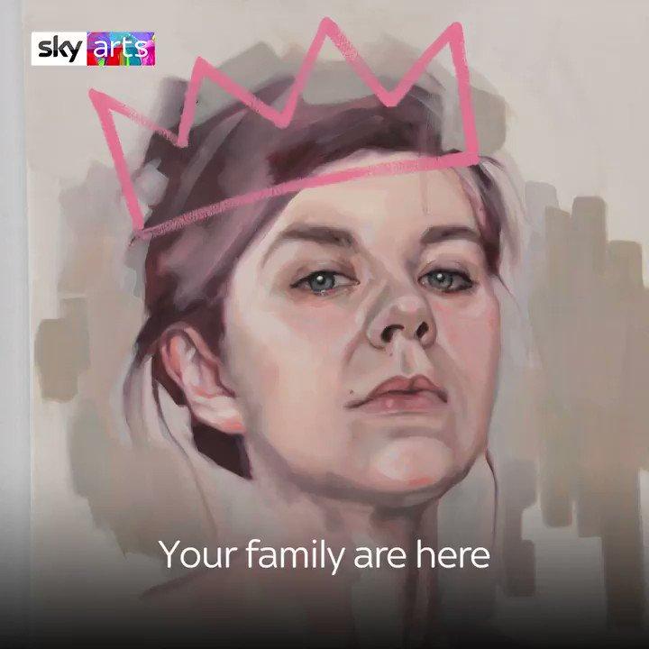 On tonight's #PortraitArtistOfTheYear we've got @Angela_Griffin, @JamWestman and Gina McKee. Also @LucyPassArtist we don't think your nose is @LeagueOfGentlem local 😂👃