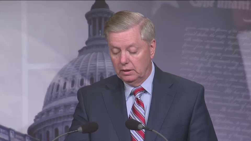 """""""What makes no sense to me is that all the abuse by the Department of Justice, in the FBI the unprofessional conduct, the shady behavior — nobody seems think that's much important,"""" Graham said of the """"double standard"""" of alleged pro-Clinton and anti-Trump bias by officials"""