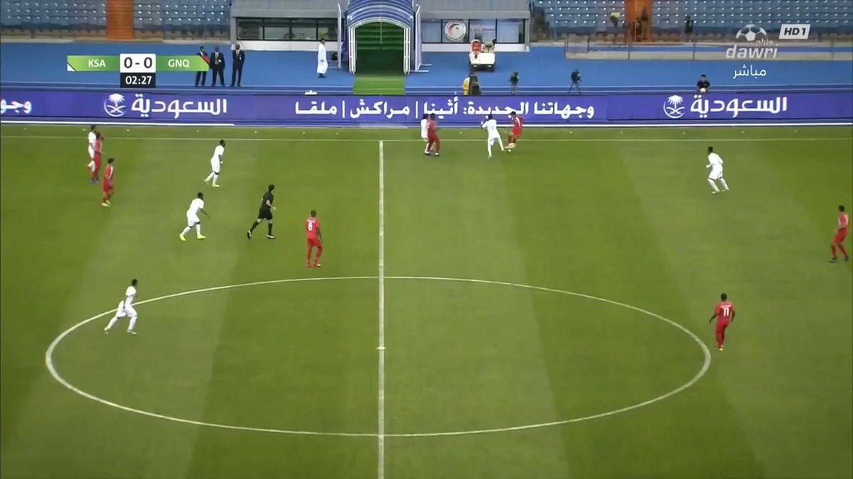 الهدف الأول للمنتخب #السعودي 🇸🇦سجله اللاعب عبدالله الشامخ في الدقيقة 4    السعودية 1     غينيا الاستوائية 0     #السعودية_غينيا_الاستوائية  #معاك_يالاخضر       #دوري_بلس