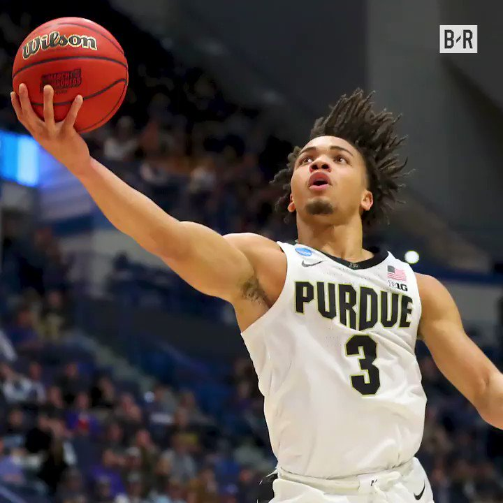 Image for the Tweet beginning: Carsen Edwards came into the