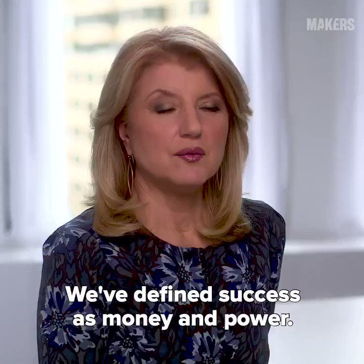 Arianna Huffington is on mission to redefine what success looks like. 🙌 @ariannahuff