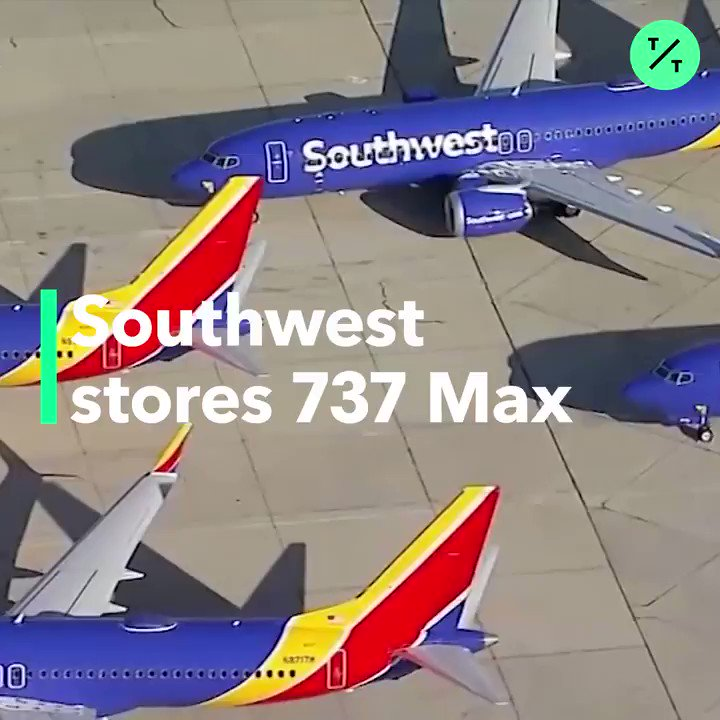 Southwest Airlines has begun storing all its #Boeing737Max aircraft in California amid the crisis  More @business: https://t.co/5JJuirG24e https://t.co/C5qOiQrDe2