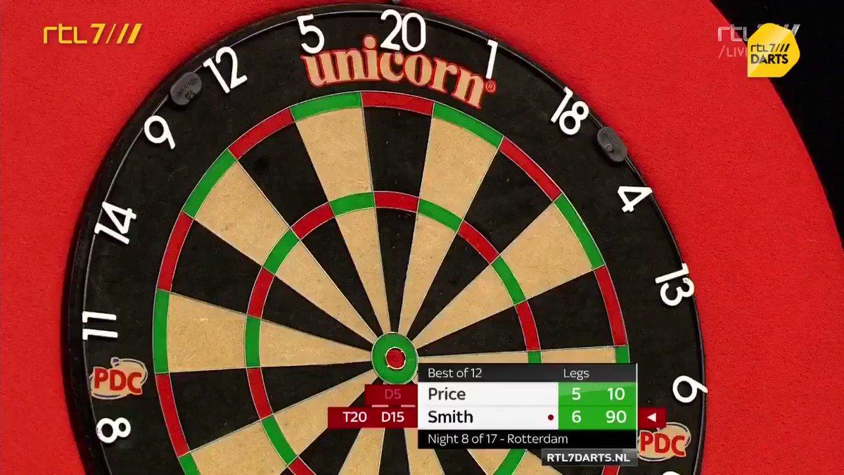 Premier League Darts in Ahoy Rotterdam: Michael Smith wint van Gerwyn Price