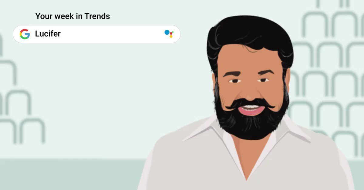 The heroes who know how to smash all records.  #GoogleTrends #Lucifer @Mohanlal #MiamiOpen @MiamiOpen @YUVSTRONG12