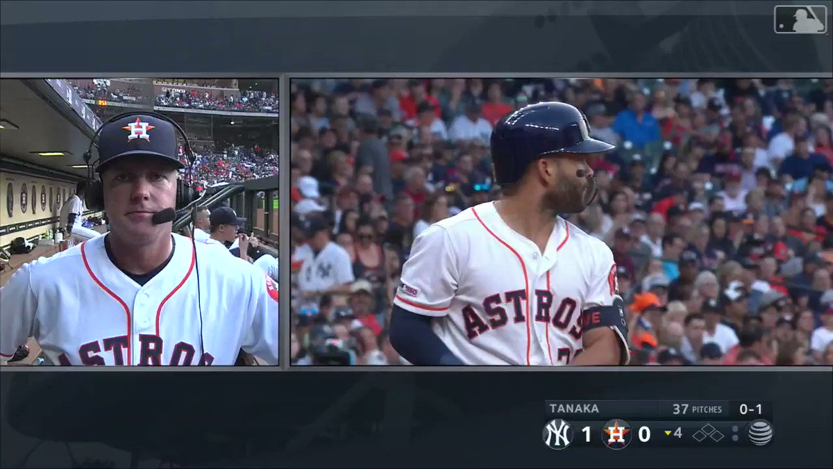 All A.J. Hinch had to do was ask. #Statcast