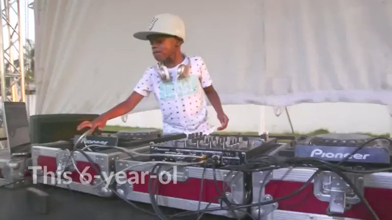 This six-year-old in South Africa is the world's youngest DJ https://reut.rs/2UpeYVo