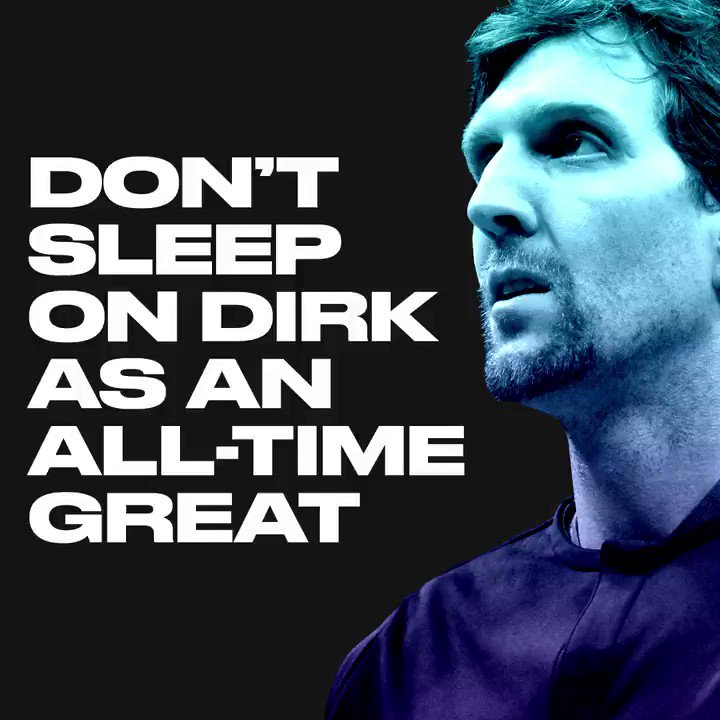 The stats speak for themselves.  Dirk goes out as one of the best ever