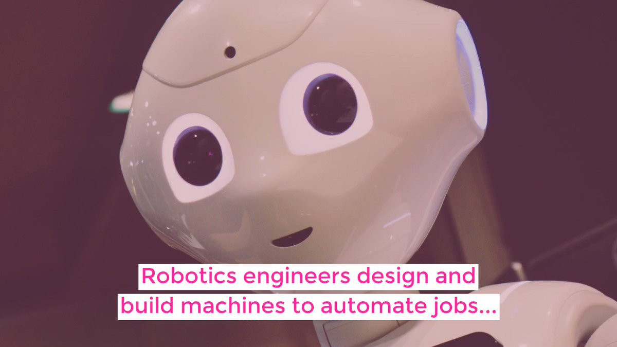 The field of robotics is booming and only projected to get bigger in the coming years. From security and medicine to food production and manufacturing.   Explore a career in Robotics Engineering today -  http://bit.ly/2VE9D94   #FridayFeeling #Careers