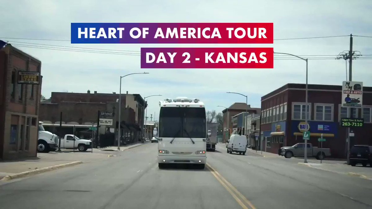 Day 2, you exceeded expectations. Our Kansas trip may be over but the conversations that were had and the things I learned along the way will stay with me forever. Thank you, Kansas, for your time, kindness, and candor. #HeartOfAmericaTour