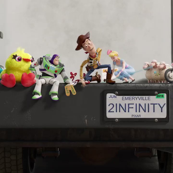 RT @toystory: This summer, the toys are hitting the road. See #ToyStory4 in theatres June 21. https://t.co/G5soAIrBcE