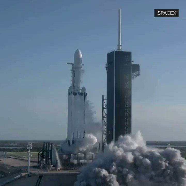 spacex heavy lift launch - 720×720