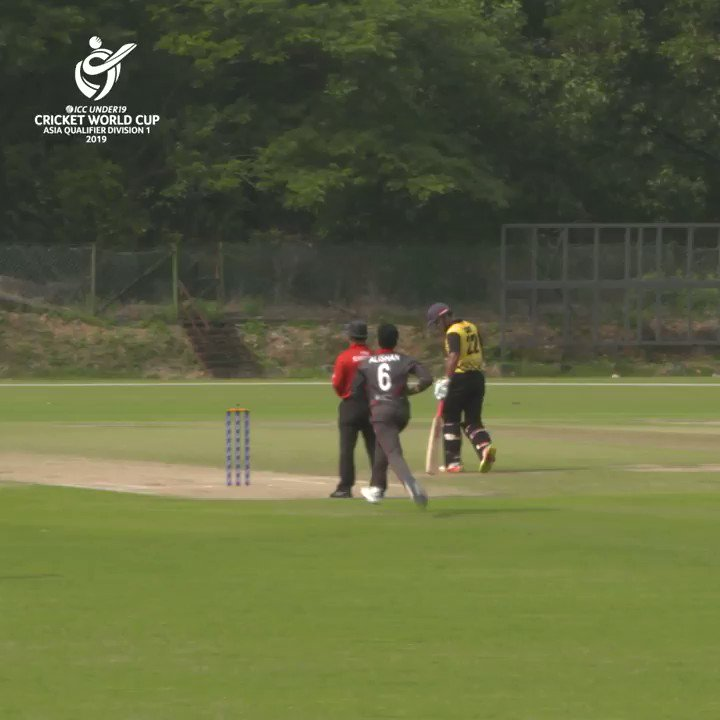 It's Day 1️⃣ of ICC U19 Cricket World Cup Asia Qualifier, and @MalaysiaCricket have got off to a great start against @EmiratesCricket!