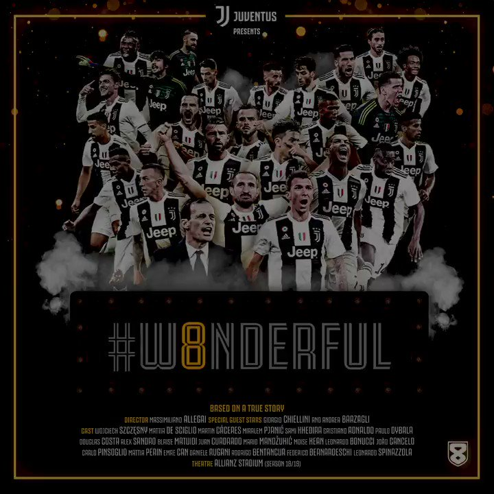 JuventusFC's photo on #W8NDERFUL