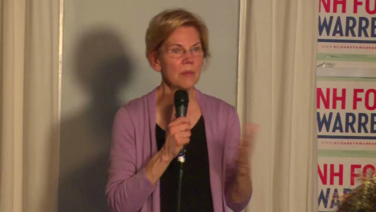 "I really don't understand this idea that Elizabeth Warren isn't ""charismatic"" cuz this video just fired me up"