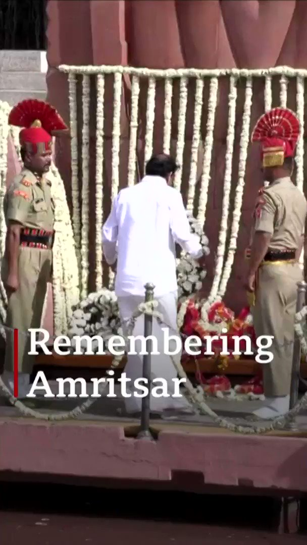 Amritsar: India marks 100 years since massacre  [tap to expand] https://t.co/ovA1VSVmfv https://t.co/xNemPHK0nS