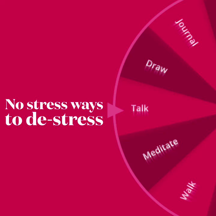 There are so many positive ways to cope with stress. Two examples are meditating or journaling. Comment and tell us how you de-stress. #MentalHealthMonday