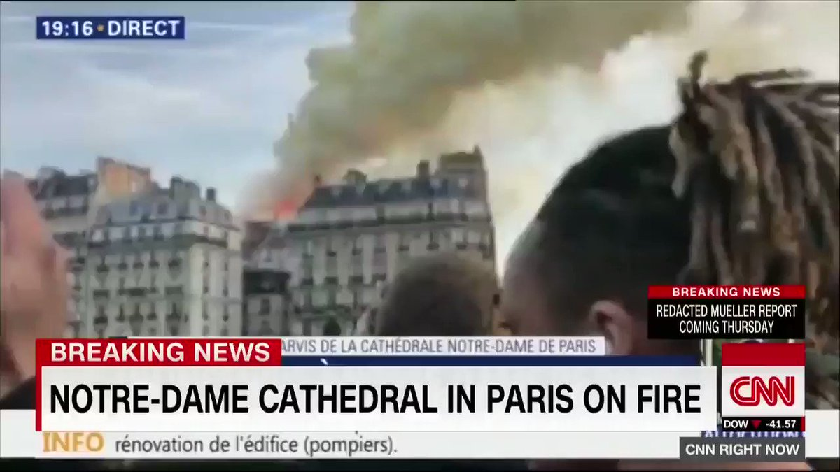 JUST IN: Police in Paris say the Notre Dame cathedral is on fire https://cnn.it/2IiTSlf