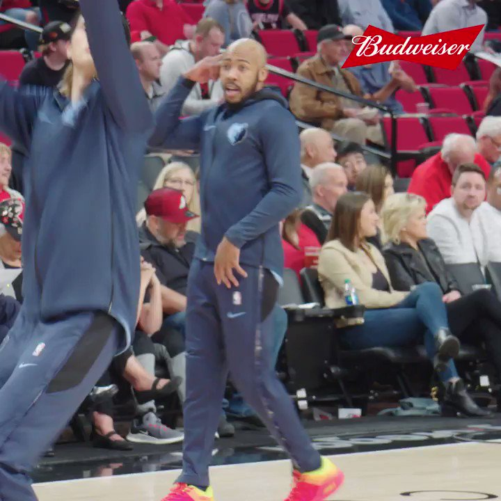 .@nextlevel_03 mic'd up? You definitely want to watch this #LiveOnTheCourt presented by @budweiserusa