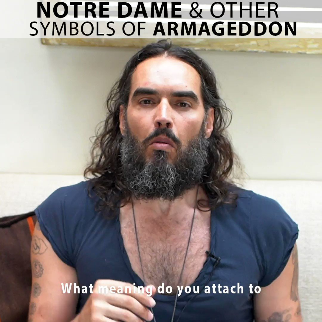 Russell Brand's photo on #NotreDameCathedralFire
