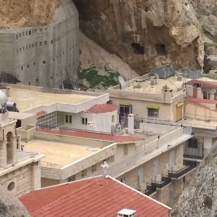 """As Obama """"mourns"""" the loss of one iconic Cathedral, remember that this is the same man who armed Al-Qaeda terrorists that attacked, looted and destroyed the churches and monasteries of #Syria's Maaloula, one of the oldest Christian towns in the world."""