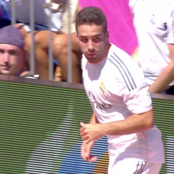 RT realmadrid: 🛡✔ ¡DaniCarvajal92 no se ha perdido ningún encuentro contra el AthleticClub desde su debut en el 2013/14!  📺 http://bit.ly/Carvajal_ATH | #RMLiga