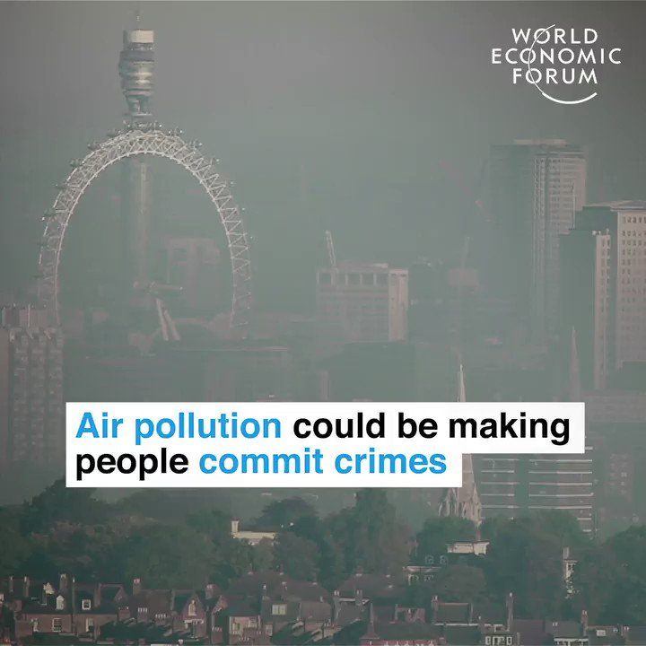 Climate-influenced criminals.   https://wef.ch/2vdncky #pollution #environment V/@wef C/@Fisher85M @antgrasso @evankirstel @ipfconline1 @helene_wpli @TamaraMcCleary @Ronald_vanLoon @Andi_staub @JacBurns_Comext @MikeQuindazzi @SpirosMargaris @andy_lucerne
