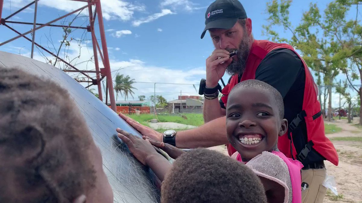 Share a smile with the people you love this weekend! #Mozambique #CycloneIdai