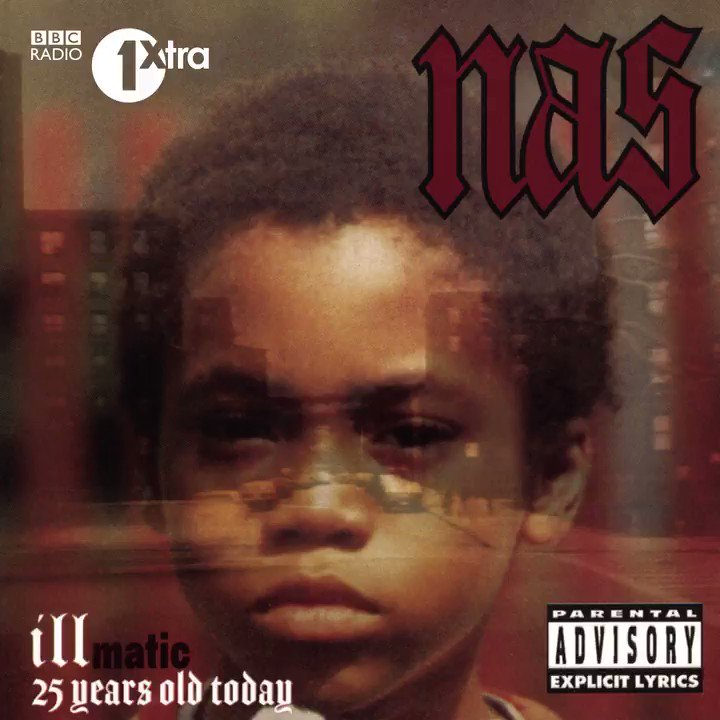 25 years ago today @Nas released Illmatic! 🎉📀  Lock in from 10am for an exclusive tribute mix from Nas' tour DJ @DJGREENLANTERN 🔥