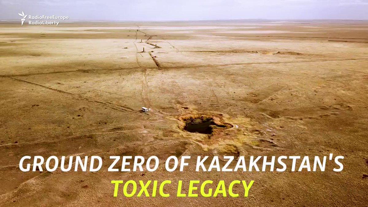 Image for the Tweet beginning: In #Kazakhstan, villagers living close
