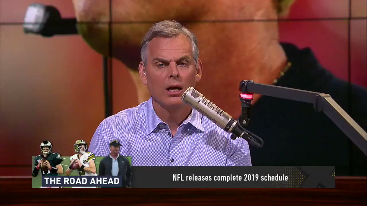 .@ColinCowherd examines the 2 hardest NFL schedules, 2 easiest NFL schedules and the most interesting NFL schedule