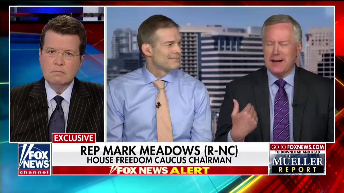 .@RepMarkMeadows It's a good day for America and it's a good day for the President