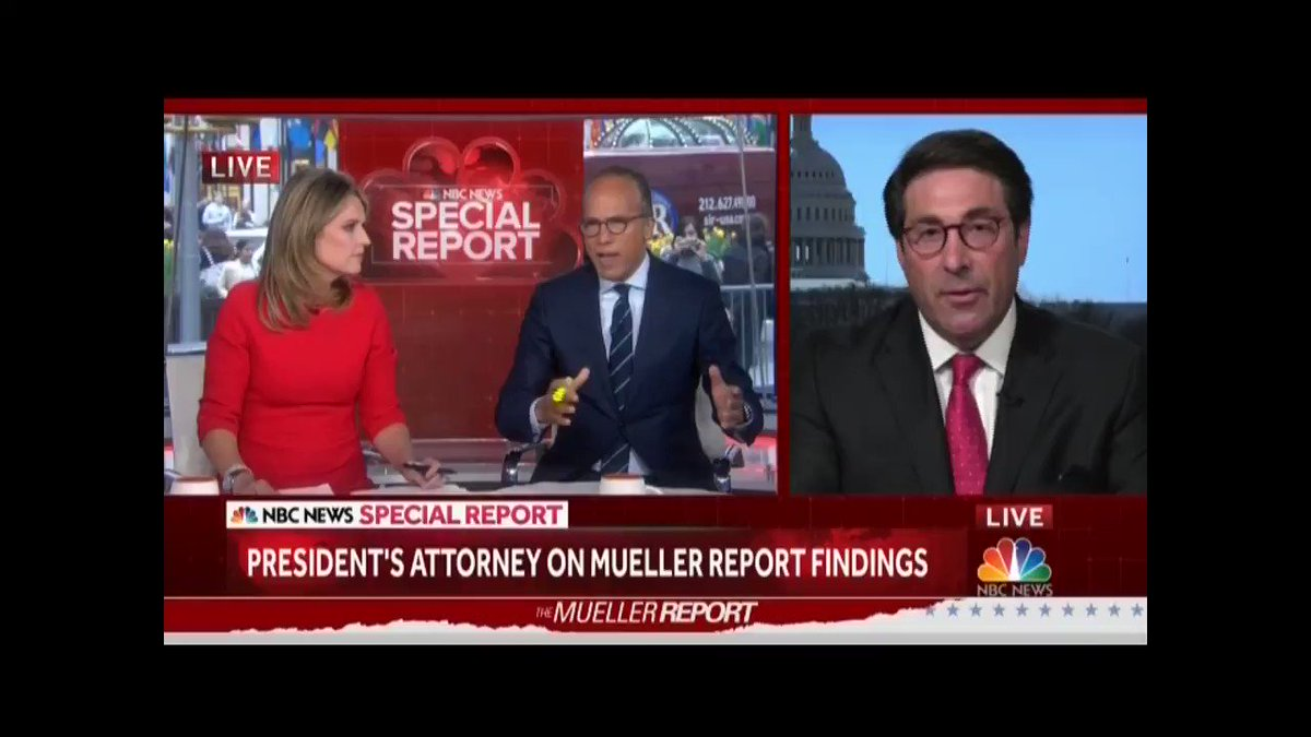 """The President has been vindicated."" -Jay Sekulow"