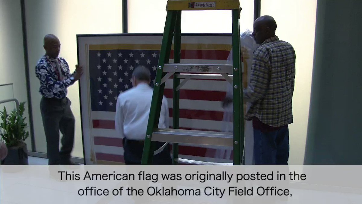 24 years ago today the Secret Service lost 6 employees in the Oklahoma City bombing. The flag that had been posted in the Field Office now hangs in the Secret Service headquarters building to remind us all of those we lost.
