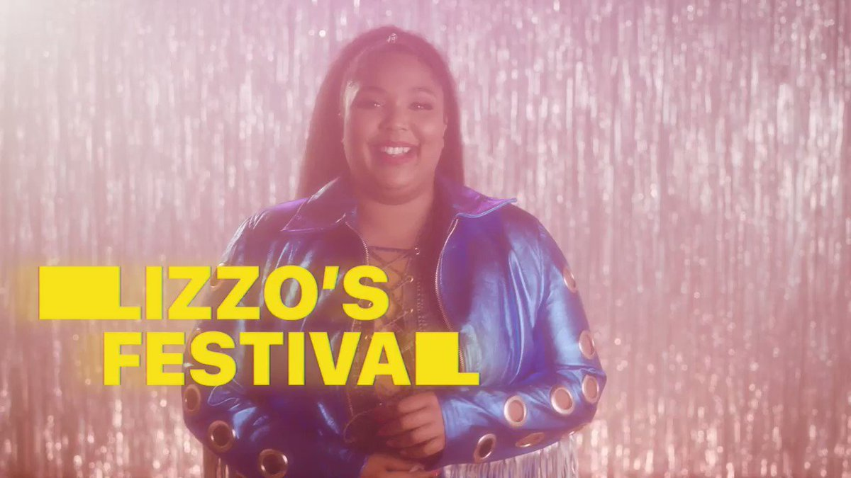 Who wants to go through festival season with @lizzo?  Listen to her new album #CuzILoveYou here: http://apple.co/LIZZO_CuzILoveYou …