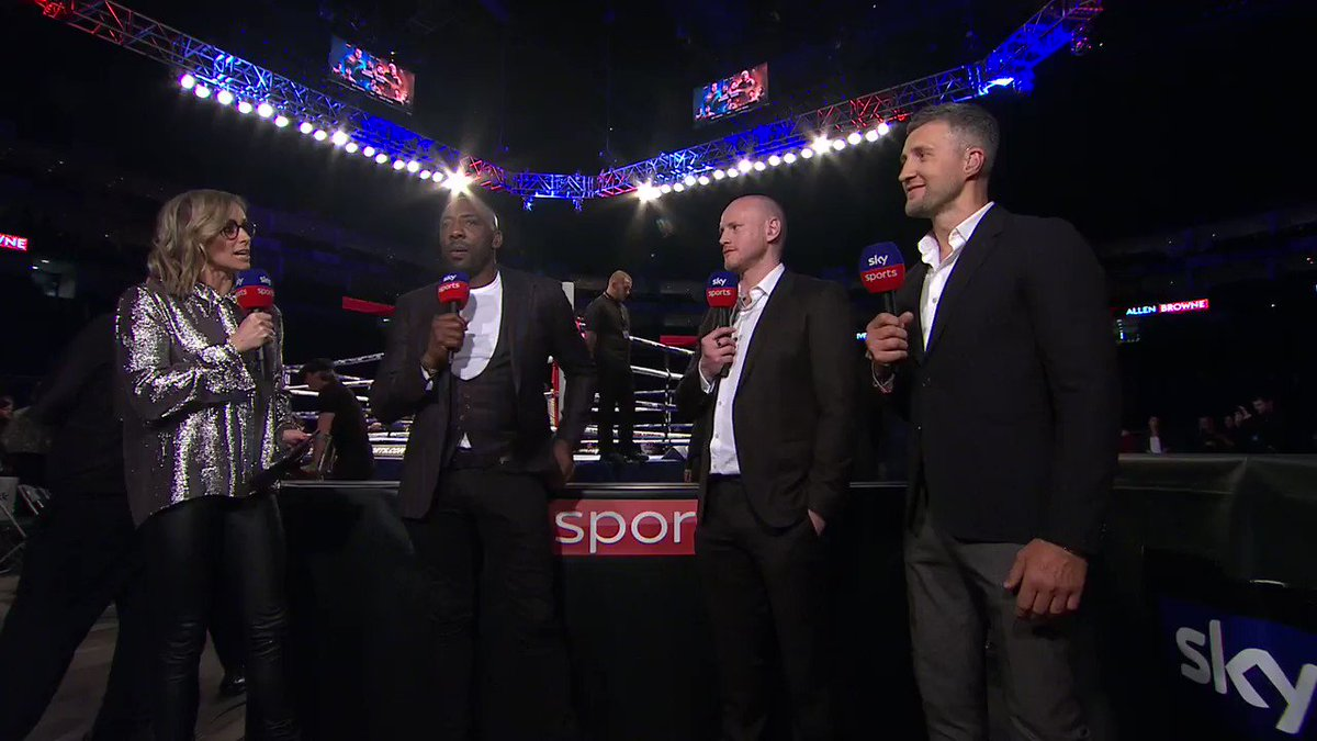 80,000 - Wembley... It was bound to come up   🤣 @Carl_Froch, @StGeorgeGroves