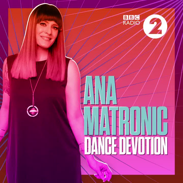 Extend your weekend with @MsAnaMatronic's Dance Devotion! Don your dancing shoes and get ready for 2 hours of the finest dance music beats. 👠💃  https://bbc.in/2GrLyNN