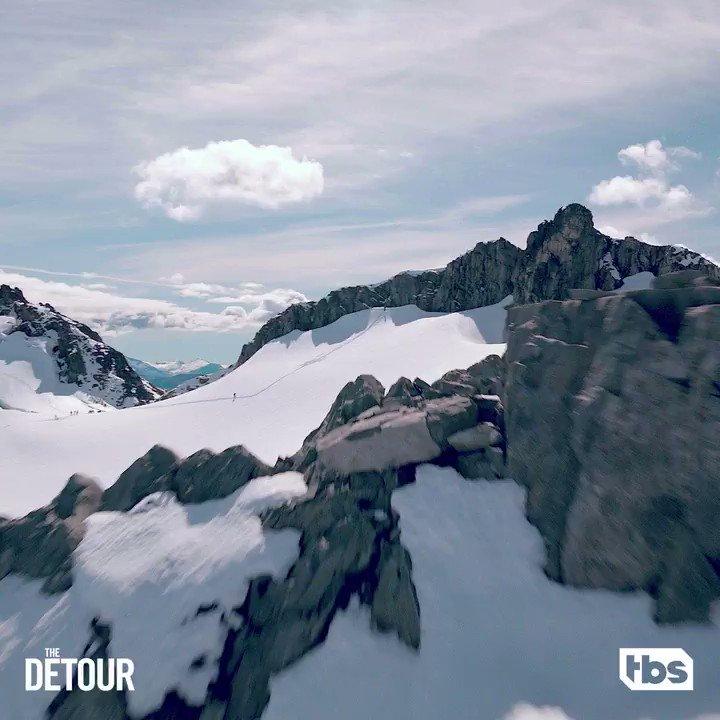 Their biggest detour yet 🌏. The Parkers return for the new season of @DetourTBS June 18.