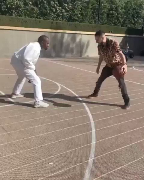 Had Kanye slipping (via @FrencHMonTanA)