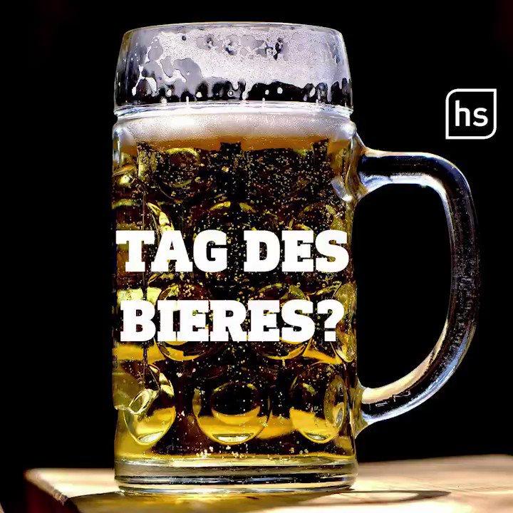 Image for the Tweet beginning: #TagdesBieres? Manche Dinge werden einfach