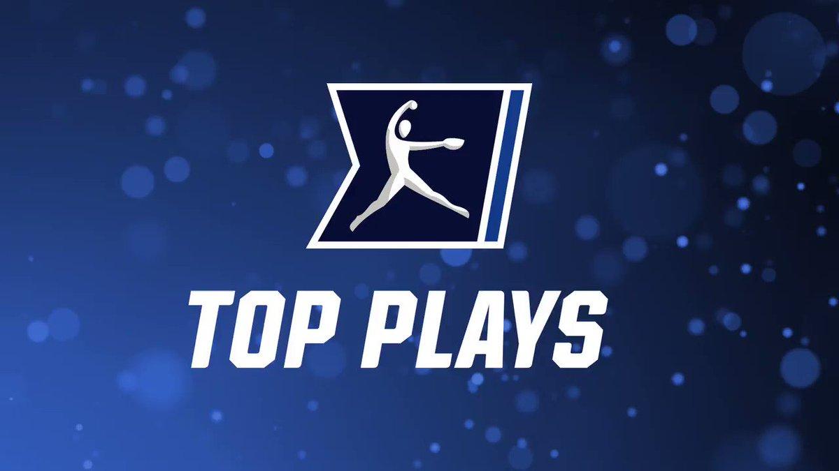 Take a 👀 at the Top 5️⃣ #NCAASoftball Plays from the past week! 5️⃣ @RiverhawkSB 4⃣ @Vol_Softball 3⃣ @UVU_SOFTBALL 2⃣ @RUSoftball 1⃣ @OU_Softball