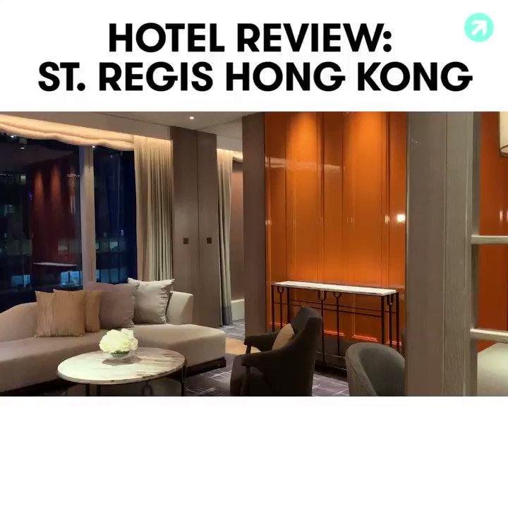 Take a look at @marriotts 7,000th property, the stunning St. Regis Hong Kong. Full review: trib.al/Krpl8Gn