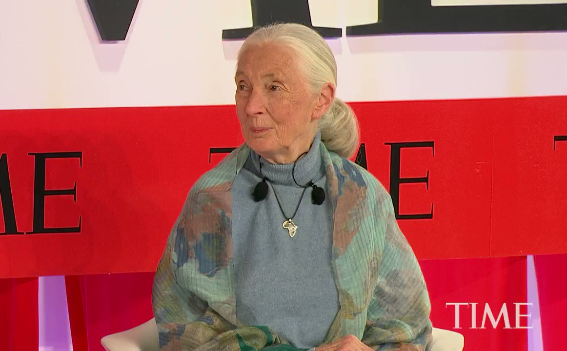 At the inaugural #TIME100 Summit, Jane Goodall calls for billions of people to 'make ethical choices' to save the planet: http://mag.time.com/xUK8rGp   — Presented by @Citi